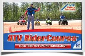 ATV Safety Institute Riders Course