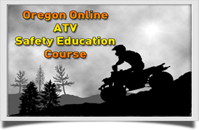 Oregon ATV Safety Safety Education Course Badge